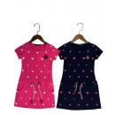 Großhandel Kinder- und Babybekleidung: Mädchen / Girls; Kleid / Dress T45