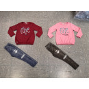 grossiste Vetements enfant et bebe: Ensemble fille de vêtements pour enfants BA-2250