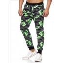 Großhandel Dessous & Unterwäsche: Herren / Men;Jogging Pants SS-30 Green