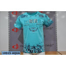 Großhandel Shirts & Tops: Herren / Men;T-Shirt 10915 Aqua
