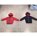 grossiste Pulls et Sweats: Sweat Jacket REVERSIBLE NO-2400 Rouge