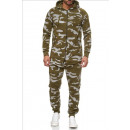 Großhandel Sportbekleidung: Herren / Men joggingSet SS-72 Green