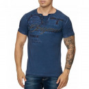Men's T-Shirt Shirt TUR-3145 Navy