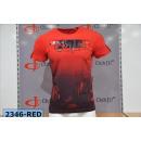 groothandel Kleding & Fashion: Heren / Heren; T-shirt 2346 Rood