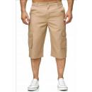 wholesale Shorts: Men's Fashion  Bermuda Pants Short J-402 Beige
