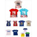 Jungen T-Shirt Tshirt Kurzarm Shirt Posten Mix