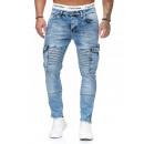 wholesale Jeanswear: Men's; Jeans  trousers TUR-5016 L. Blue