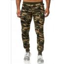 mayorista Ropa deportiva: los hombres; Jogging Pants Army 8771