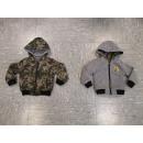 Großhandel Pullover & Sweatshirts: Sweatjacket REVERSIBLE NO-2401 Green
