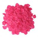 Großhandel Kunstblumen: S/O 500er Pack  Rosenblätter Rosenblüten Pink