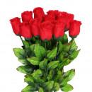 Großhandel Kunstblumen: S/O 48er Pack  Rosen rot 45cm  Kunstblumen ...