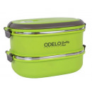 wholesale Lunchboxes & Water Bottles: CONTAINER, FOOD, Double, GREEN, ODELO