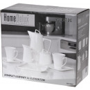 kávéskészlet, HomeDelux, quatre, 21 elem