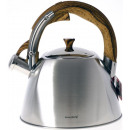 wholesale Kitchen Electrical Appliances: kettle with  whistle, steel, 3l, KB-7193