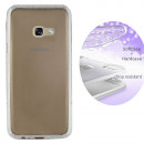 BackCover Layer TPU + PC Samsung A5 2017 Argent