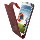 Caso de visita del color para Samsung i9500 Galaxy