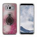 groothandel Food producten: Hoesje Ring Liquid Samsung S8 Zilver