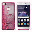 grossiste Electronique de divertissement: Cool Skin Cover  liquide Huawei Lite Pink Heart P8