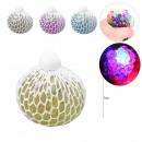 Squishy Skin Balls LED Glitter 12 Stück