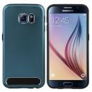 groothandel Computer & telecommunicatie: BackCover Metal  Samsung Galaxy S6 Edge Plus Blauw