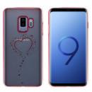 CoolSkin Bumper Clear Samsung S9 Plus Heart Rose G