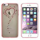 CoolSkin Bumper Clear Apple Iphone 6,6S Heart Rose