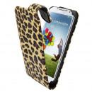 groothandel Computer & telecommunicatie: Business Color  voor Samsung i9500 Luipaardprint