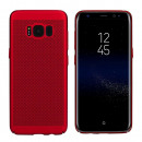 BackCover Holes Huawei P10 Plus Red