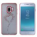 CoolSkin Bumper Clear Samsung J2 Pro 2018 Heart Ro