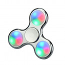 hand spinner Argent métallisé LED universel