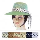 Chapeaux de dames CM-36 Mix Colors 6 pièces