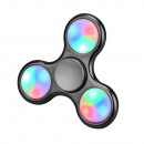 hand spinner LED light Universal Metalic Black