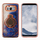 groothandel Food producten: Hoesje Ring Liquid Samsung S8 Rose Goud