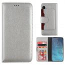 groothandel Tassen & reisartikelen: Wallet Case voor  Apple iPhone X Zilver