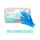 wholesale Gloves: Nitrile Exam Gloves Size L Blue