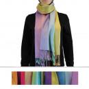 Scarf PAS-088 Mix Colors 12 pieces