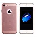 groothandel Computer & telecommunicatie: BackCover Holes  Apple iPhone 7 Rose Goud