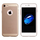 groothandel Computer & telecommunicatie: BackCover Holes  Apple iPhone 8 Plus Goud