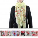 wholesale Scarves & Shawls: Scarf BD-3 Mix Colors 12 pieces