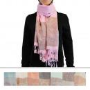 Scarf Pashmina LJ-51 Mix Colors 12 pieces