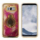 Großhandel Raucher-Zubehör: Ring-Fall Samsung S8 Flüssiges Gold
