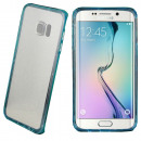 grossiste Informatique et Telecommunications: Cas Cool Skin  Bling Galaxy S6 Plus Bord Turquois