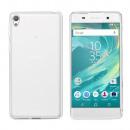 Coque CoolSkin3 pour Sony Xperia E5 Transp. Blanc
