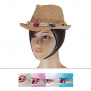 Ladies hats CM-77 Mix Colors 6 Pieces Size 58