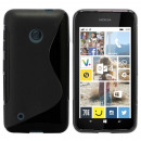 Bulk-Cool Skin  Fall für Nokia Lumia 925 Schwarz