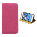 Book Case for Apple Iphone 7 Pink