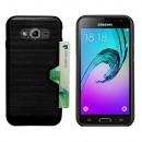 Card Case Skin Samsung J5 Black