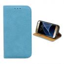groothandel Computer & telecommunicatie: Hoesje Book voor  Samsung S7 Licht Blauw