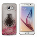 groothandel Rook-accessoires: Hoesje Ring Liquid  Samsung A3 2017 Zilver