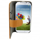 groothandel GSM, Smartphones & accessoires: Case Leather2  Samsung i9500 Galaxy S4